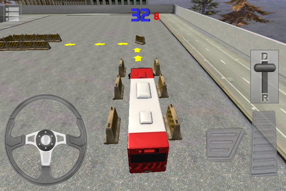 Screenshot Bus Parking 3D Free