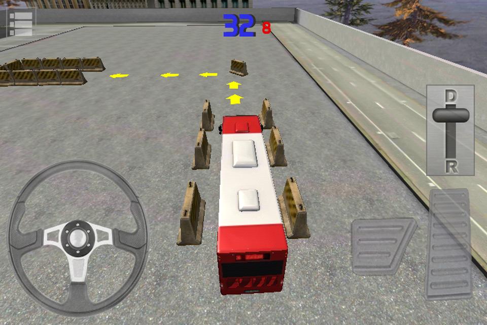 Screenshot Bus Parking 3D Free